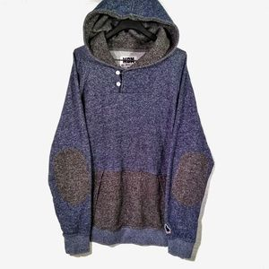 WON Woolf Originals New York blue & gray hoodie